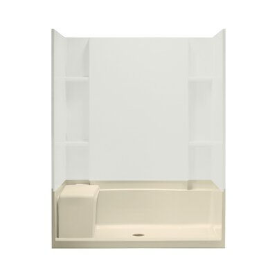 """Accord 60"""" x 36"""" Seated Shower Receptor Product Photo"""
