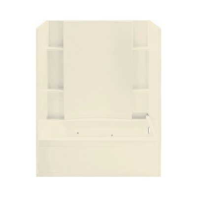 """Accord 32"""" x 18"""" Right Hand Whirlpool Tub and Walls Product Photo"""
