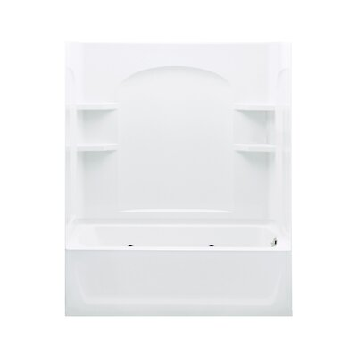 "Ensemble 72"" Whirlpool Tub and Walls Product Photo"