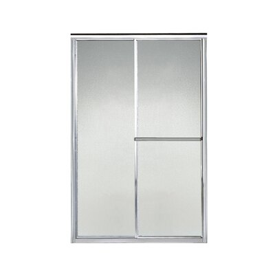 """Deluxe 65.5"""" x 44"""" Sliding Shower Door Product Photo"""