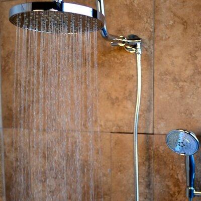 Pulse Showerspas Aqua Rain Diverter Complete Shower System