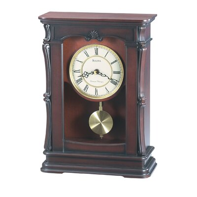 Abbeville Mantel Clock by Bulova