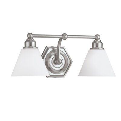 Norwell Lighting Jenna 2 Light Bath Vanity Light