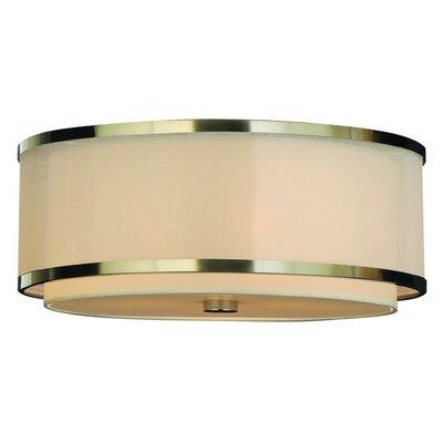 Trend Lighting Corp. Lux 3 Light Flush Mount