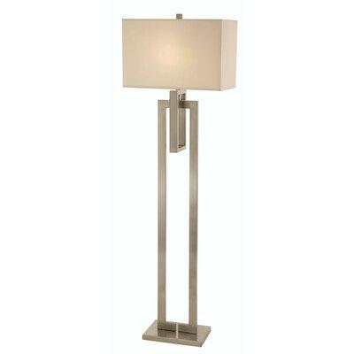 Canarm curve 1 light floor lamp reviews wayfair for Curva 2 floor lamp