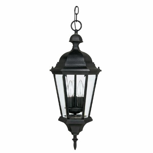 Outdoor Carriage Garage Lights: Carriage House 3 Light Outdoor Hanging Lantern