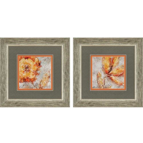 Ashanti By King 2 Piece Framed Graphic Art Set By Paragon