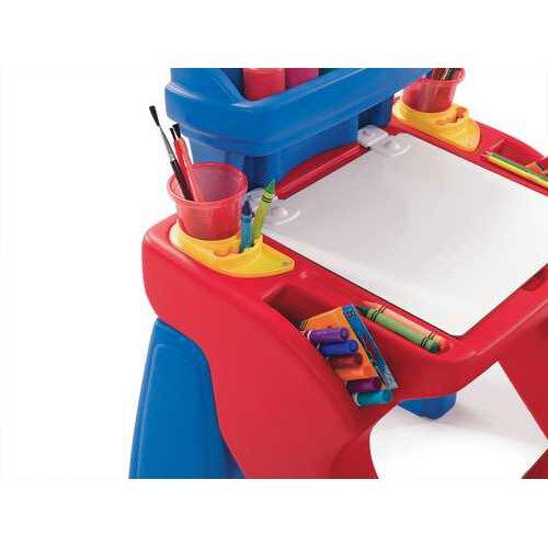 Step2 Write Desk in Red