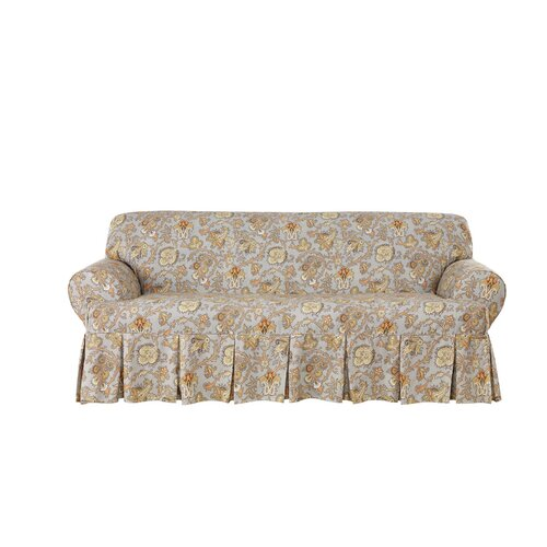 Tennyson Sofa T Cushion Skirted Slipcover Wayfair : One Piece T Cushion with Box Pleat Skirt 0472934446 from www.wayfair.com size 500 x 500 jpeg 51kB