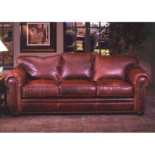 Omnia Furniture El Dorado Leather Sleeper Sofa Amp Reviews