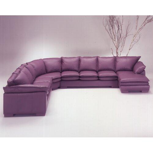Omnia Furniture Tribeca Loft Sectional Reviews Wayfair