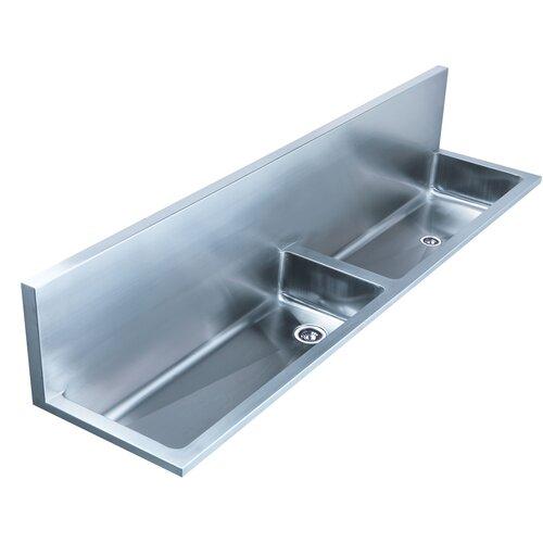 Double Basin Laundry Sink : Noahs 72