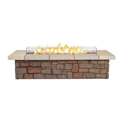Real Flame Sedona Propane Fire Pit Table Amp Reviews Wayfair