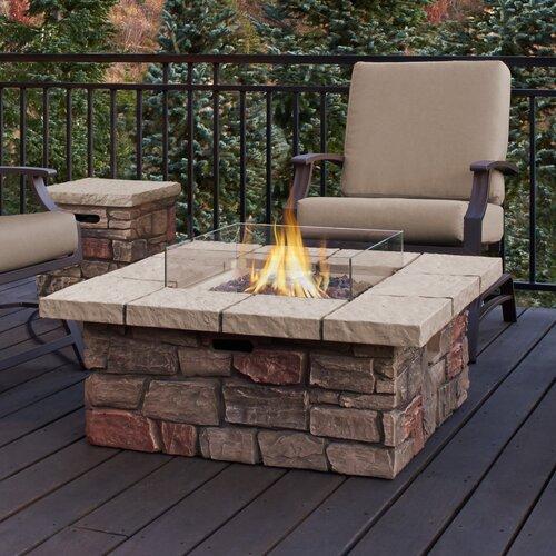 Sedona Propane Fire Pit Table | Wayfair