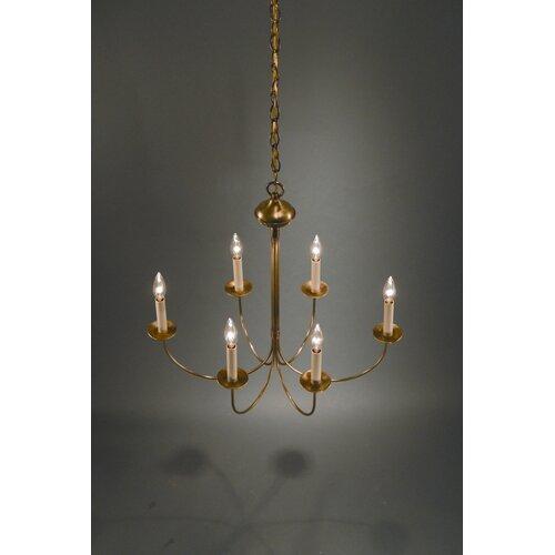 Northeast Lantern 6 Light Candelabra Chandelier & Reviews