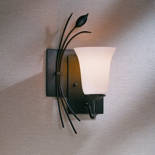 Hubbardton Forge Wall Lights: Hubbardton Forge Leaf Left Wall Sconce & Reviews