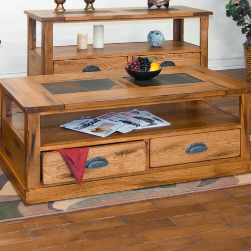 Sunny Designs Sedona Coffee Table with Caster