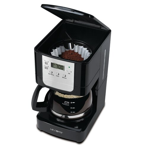 Coffee Maker 5 Cup Programmable : Mr. Coffee 5-Cup Programmable Coffee Maker & Reviews Wayfair