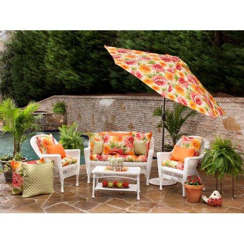 Muree Primrose Indoor/Outdoor Floor Pillow Wayfair