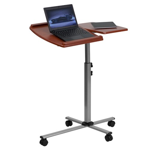 Flash Furniture Adjustable Laptop Cart