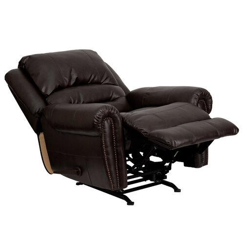 Flash Furniture Leather Chaise Recliner & Reviews