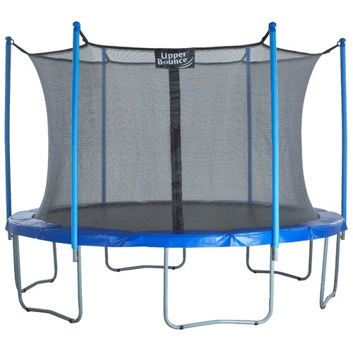 Upper Bounce 14 Ft Trampoline Enclosure Net: Upper Bounce 15' Trampoline With Enclosure & Reviews