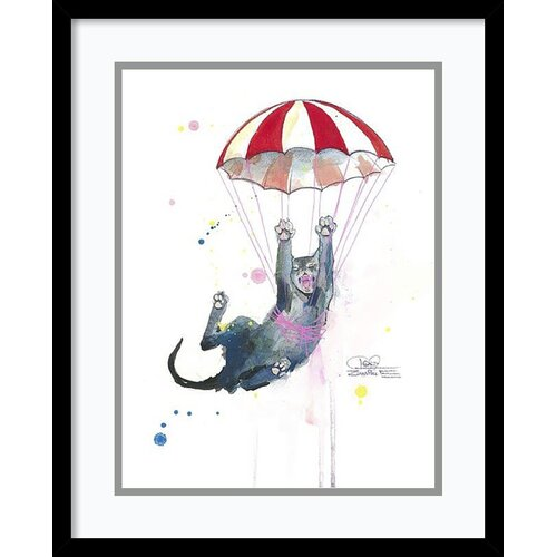 Parachute Cat by Lora ...