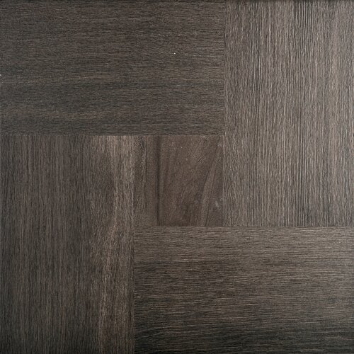 parquet 20 x 20 porcelain tile in espresso gloss wayfair. Black Bedroom Furniture Sets. Home Design Ideas