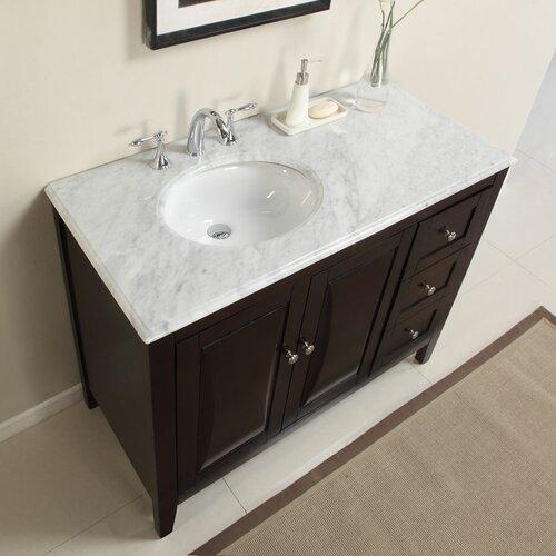 45 Single Sink Cabinet Bathroom Vanity Set Wayfair