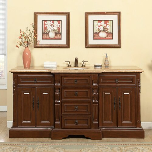 silkroad exclusive 72 single sink bathroom vanity set reviews