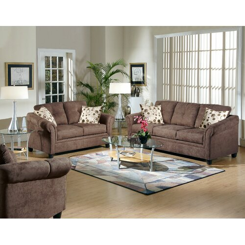 Wayfair supply furniture living room sets serta upholstery sku