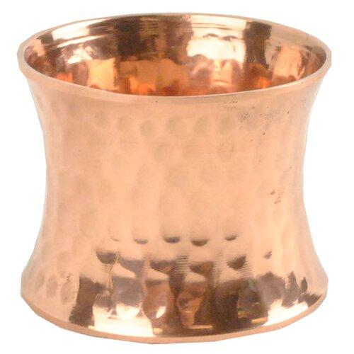 Design Imports Hammered Napkin Rings (Set of 4)