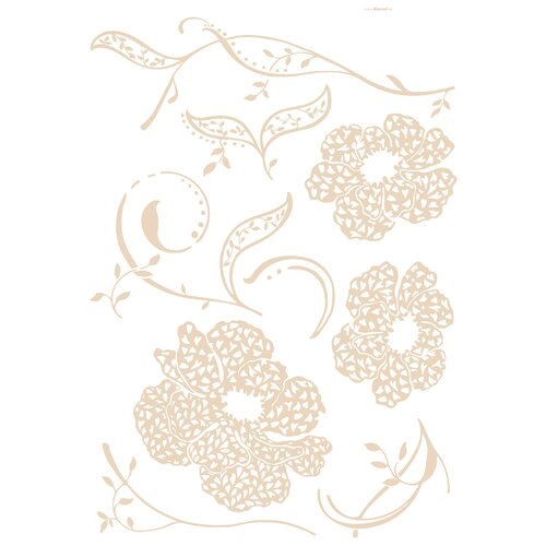 Brewster Home Fashions Euro Amelie Wall Decal & Reviews