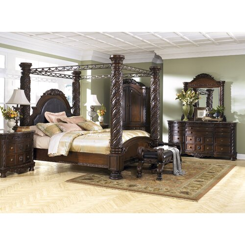 Ashley Home Furnishings: North Shore 12 Drawer Dresser With Mirror