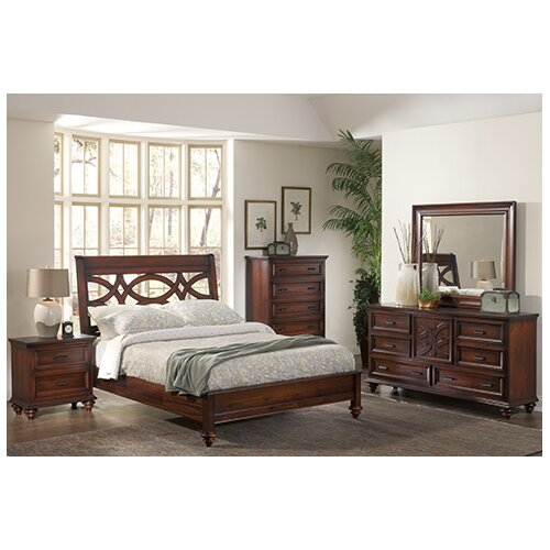 Wildon Home Cayman Sleigh Customizable Bedroom Set Reviews Wayfair