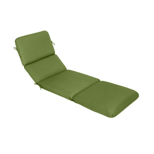 Wildon home saratoga outdoor sunbrella chaise lounge for Chaise cushions clearance