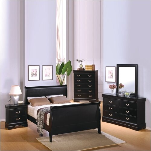 Wildon Home Thatcher Sleigh Customizable Bedroom Set Reviews Wayfair