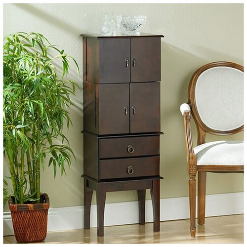 Antique Cherry Jewelry Armoire by Wildon Home ®