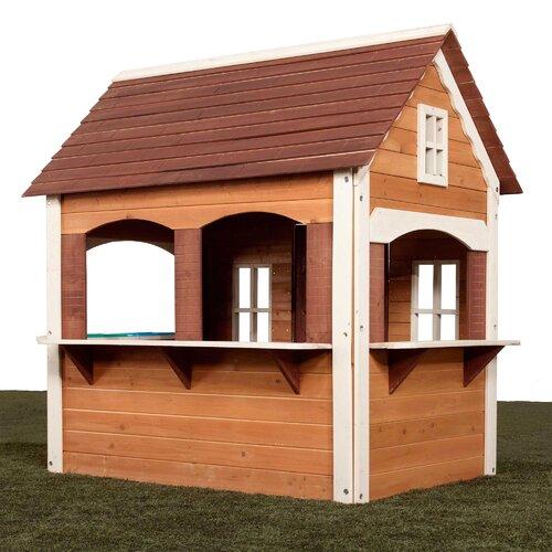 Swing N Slide Cottage Playhouse Amp Reviews Wayfair
