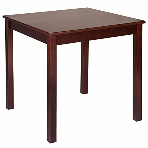 Pine wood 28 quot square dining table wayfair