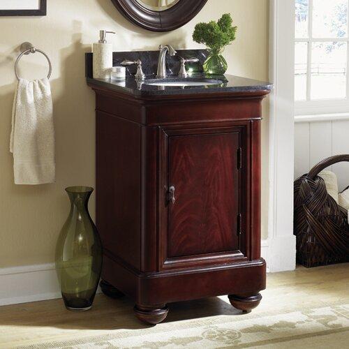 Kao Floor Mount 615 Single Bathroom Vanity Set