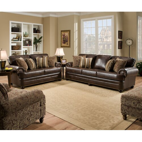 Simmons upholstery miracle living room collection - Simmons living room furniture sets ...