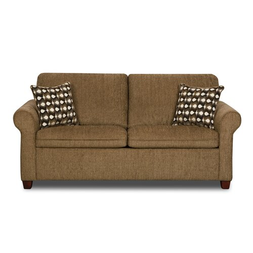 Simmons Upholstery Santa Fe Full Hide A Bed Sleeper Loveseat Reviews Wayfair