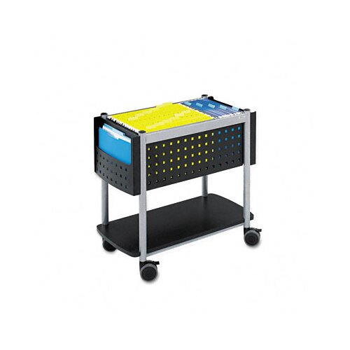 Safco Products Company Scoot Open Top Mobile File Cart