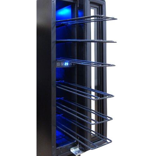 vinotemp 7 bottle single zone built in wine refrigerator reviews wayfair. Black Bedroom Furniture Sets. Home Design Ideas