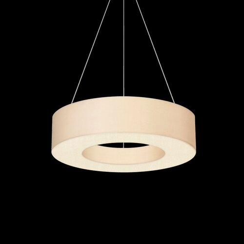 sonneman 1 light drum pendant reviews wayfair