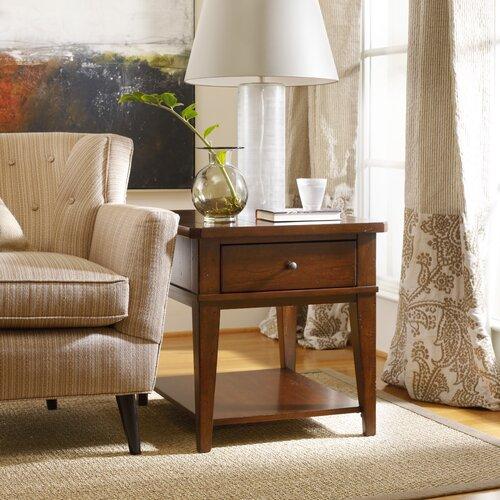 Hooker Furniture Wendover End Table & Reviews