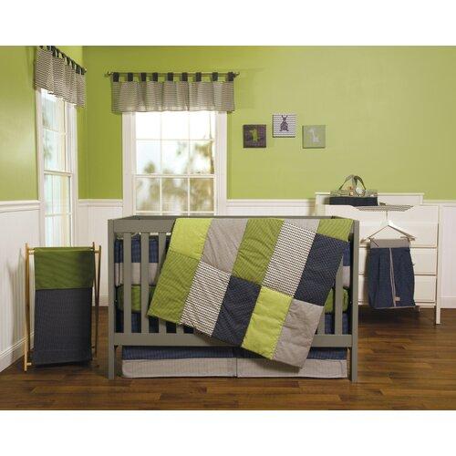 Perfectly Preppy  Piece Crib Bedding Set