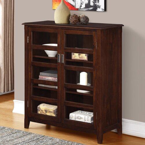 Simpli Home Burlington Medium Storage Cabinet & Reviews