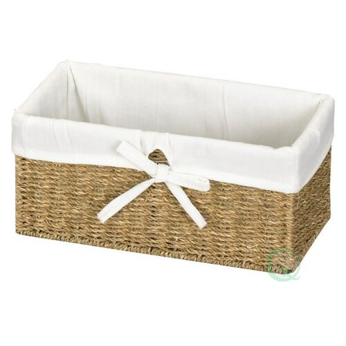 Seagrass Lined Shelf Basket by Quickway Imports
